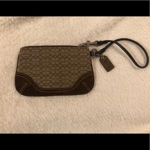 Price Drop!  Coach Wristlet
